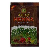 AMINA HENNA NATURAL BROWN MEHNDI 30 GM
