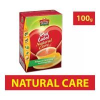 BROOKE BOND RED LABEL NATURAL CARE TEA 100.00 GM PACKET