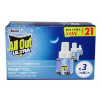 ALL OUT ULTRA REFILL 3X 45.00 ML BOX
