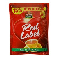 BROOKE BOND RED LABEL TASTY & HEALTHY 28 GM