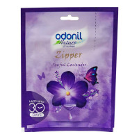 ODONIL ZIPPER JOYFUL LAVENDER AIR FRESHNER 10.00 GM PACKET