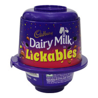 CADBURY DAIRY MILK LICKABLES CHOCOLATE  20.00 GM JAR