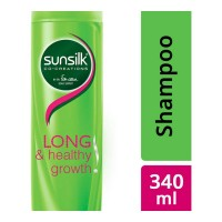 SUNSILK LONG & HEALTHY GROWTH SHAMPOO 340.00 ML BOTTLE