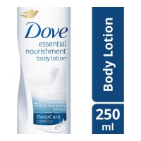 DOVE ESSENTIAL NOURISHMENT BODY LOTION 250.00 ML BOTTLE