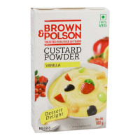 BROWN & POLSON  VANILLA CUSTARD POWDER 100 GM