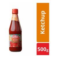 KISSAN NO ONION NO GARLIC TOMATO SAUCE 500.00 GM BOTTLE