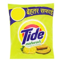 TIDE NATURALS LEMON & CHANDAN DETERGENT POWDER 800.00 GM PACKET