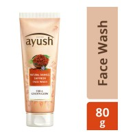 AYUSH NATURAL FAIRNESS SAFFRON FACE WASH 80 GM