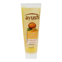 AYUSH ANTI PIMPLE TURMERIC FACE WASH TUBE