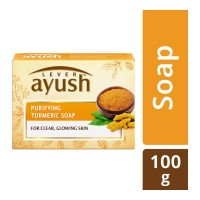 AYUSH TURMERIC SOAP 100.00 GM BOX