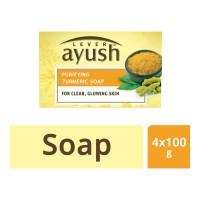 AYUSH TURMERIC SOAP 4X 100 GM