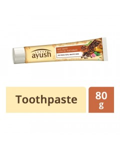 AYUSH ANTI CAVITY CLOVE OIL TOOTHPASTE 80.00 GM BOX