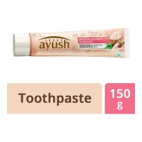 AYUSH WHITENING ROCK SALT TOOTHPASTE 150.00 GM BOX