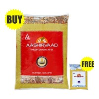 AASHIRVAAD CHAKKI ATTA 10 KG + SALT COMBO