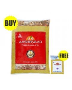 AASHIRVAAD CHAKKI ATTA 10 KG + SALT COMBO 1.00 NO