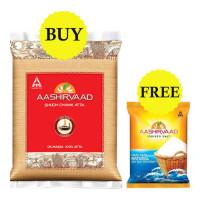 ONDOOR AASHIRVAAD CHAKKI ATTA 10 KG+FREE AASHIRVAAD SALT 1.00 KG