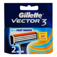 GILLETTE VECTOR3 CARTRIDGES PACK 2.00 NO