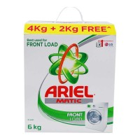 ARIEL MATIC FRONT LOAD DETERGENT POWDER BOX