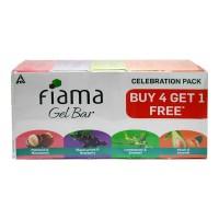 FIAMA GEL BAR CELEBRATION PACK 5X 125.00 GM BOX