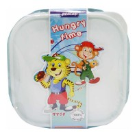 PRATAP HUNGRY TIME LUNCH BOX PPC-41 1.00 NO PACKET