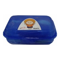 PRATAP HAPPY BITE LUNCH CONTAINER PPC-43 1.00 PCS PACKET