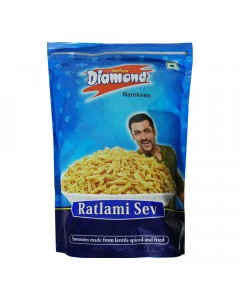 ONDOOR YELLOW DIAMOND NAMKEEN RATLAMI SEV 320 GM BUY 1 GET 1 FREE 1.00 NO PACKET