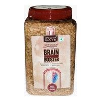 INDIA GATE BRAIN BOOSTER BROWN RICE 1.00 KG JAR