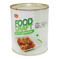 DEL MONTE FOOD CRAFT BUTTON MUSHROOM 800.00 GM TIN