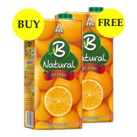 B NATURAL ORANGE JUICE 1 LTR BUY 1 GET 1 FREE