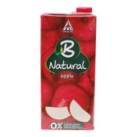 B NATURAL APPLE JUICE 1.00 LTR TETRAPACK
