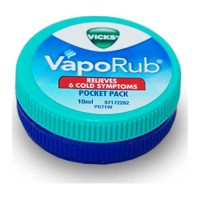 VICKS VAPORUB POCKET PACK 10 ML