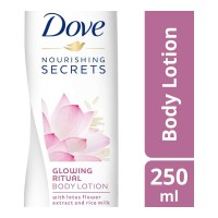 DOVE GLOWING RITUAL BODY LOTION 250.00 ML BOTTLE