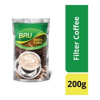 BRU GREEN LABEL COFFEE 200 GM