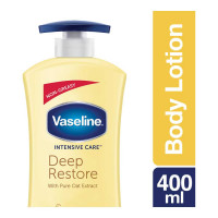 VASELINE INTENSIVE CARE DEEP RESTORE LOTION 400.00 ML BOTTLE