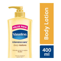 VASELINE INTENSIVE CARE DEEP RESTORE LOTION 400.00 ML BOTTLE