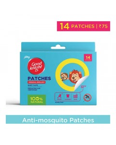 GOOD KNIGHT PATCHES 14.00 PCS BOX