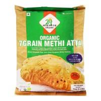24 MANTRA ORGANIC 7 GRAIN METHI ATTA 1 KG