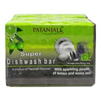 PATANJALI SUPER DISHWASH BAR 3X 280.00 GM PACKET