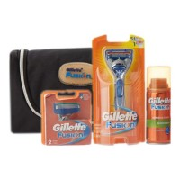GILLETTE FUSION EXCLUSIVE GIFT SET WITH REFILLABLE RAZOR 1.00 PCS BOX