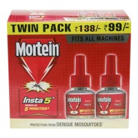 MORTEIN INSTA 5 REFILL PACK 2X 35.00 ML BOX