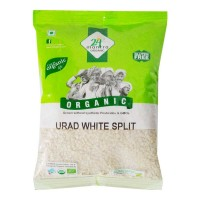 24 MANTRA ORGANIC URAD WHITE SPLIT 500.00 GM PACKET
