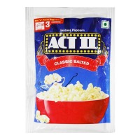ACT II CLASSIC SALTED POPCORN- 70.00 GM PACKET