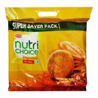 BRITANNIA NUTRI CHOICE DIGESTIVE HI-FIBRE BISCUITS 1.00 KG PACKET