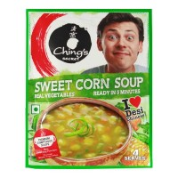 CHINGS SECRET SWEET CORN SOUP 55.00 GM PACKET