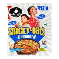 CHINGS SECRET SNACKY-OATS MANCHOW 25.00 GM PACKET