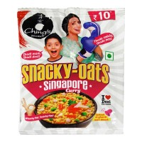 CHINGS SECRET SNACKY-OATS SINGAPORE CURRY 25.00 GM PACKET