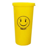 SMILEY PLASTIC GLASS 1.00 PCS PACKET