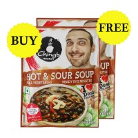 ONDOOR CHINGS SECRET HOT & SOUR SOUP 55 GM BUY 1 GET 1 FREE