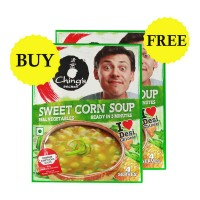 ONDOOR CHINGS SECRET SWEET CORN SOUP 55 GM BUY 1 GET 1 FREE
