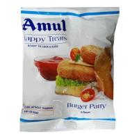 AMUL BURGER PATTY 6 PCS 360.00 GM PACKET